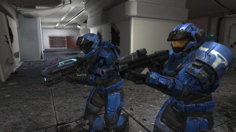 Punk and Fullback on Halo Reach